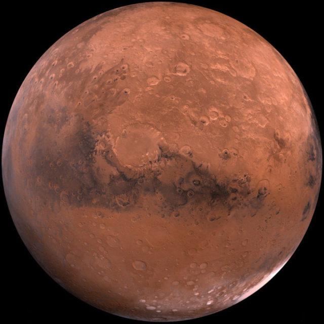 火星と月のハナシ