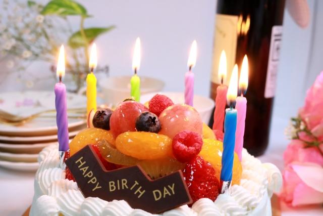 誕生日、年をとること